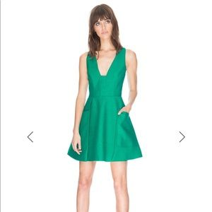 C/MEO COLLECTIVE Emerald Green Dress